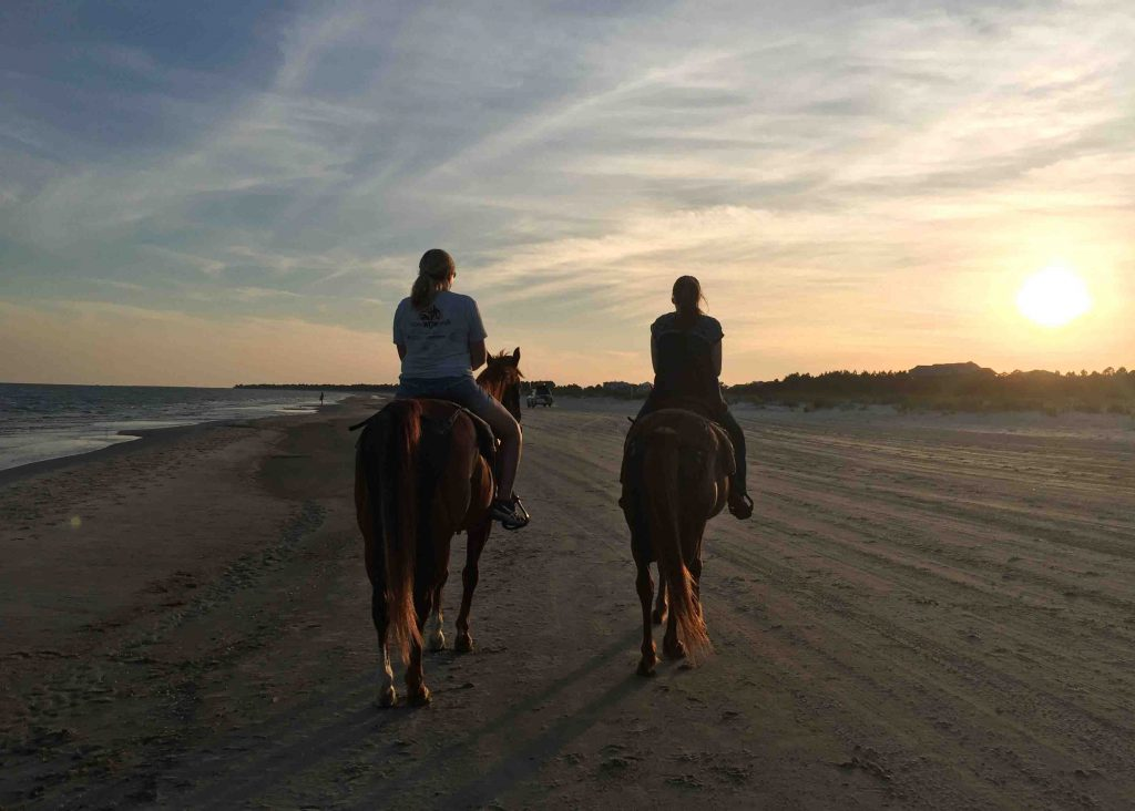 Beach-Horseback-Riding-at-Cape-San-Blas